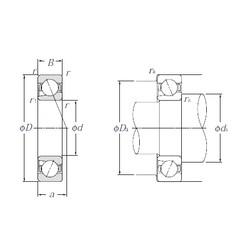 15 mm x 35 mm x 11 mm  NTN BNT202 Easy Handling Precision Bearings