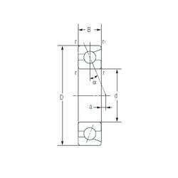 17 mm x 30 mm x 7 mm  NACHI 7903C Back-to-back duplex arrangement Bearings
