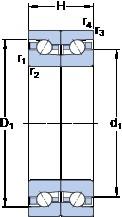 SKF BTM 140 AM/HCP4CDB Easy Handling Precision Bearings