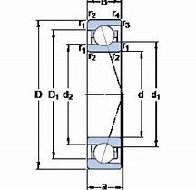 NTN 2A-BST LXL/L588  Back-to-back duplex arrangement Bearings