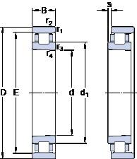 60 mm x 95 mm x 18 mm  SKF N 1012 KTN/SP Back-to-back duplex arrangement Bearings