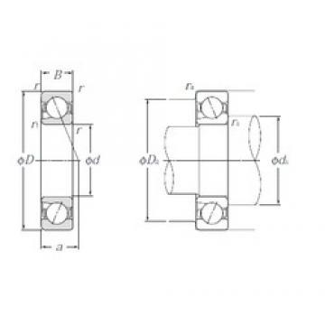 25 mm x 47 mm x 12 mm  NTN 5S-BNT005 Easy Handling Precision Bearings