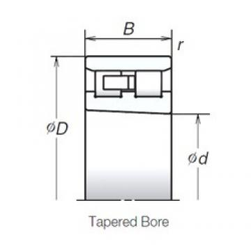 75 mm x 115 mm x 30 mm  NSK NN3015TBKR Back-to-back duplex arrangement Bearings
