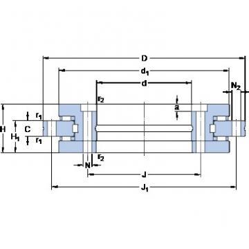SKF NRT 80 B DBB, DFF, DBT, DFT, DTT, Quadruplex Precision Bearings