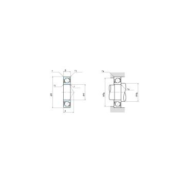 NSK 7918A5 DBB, DFF, DBT, DFT, DTT, Quadruplex Precision Bearings