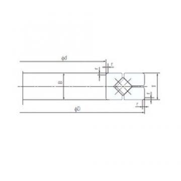 130 mm x 230 mm x 30 mm  NACHI 130XRG23 Eco-friendly air-oil lubricated angular contact ball bearings