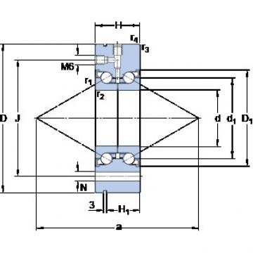 SKF BEAM 040115-2RZ Easy Handling Precision Bearings