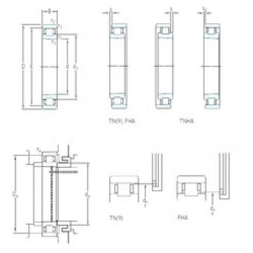 75 mm x 115 mm x 20 mm  SKF N 1015 KTN/HC5SP Eco-friendly super high-speed angular contact ball bearings
