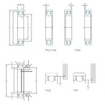 85 mm x 130 mm x 22 mm  SKF N 1017 KTN9/SP Eco-friendly high-speed angular contact ball bearings