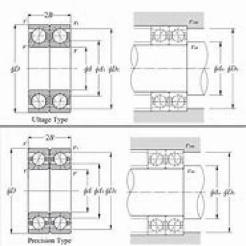 FAG B7015E.T.P4S.  Back-to-back duplex arrangement Bearings