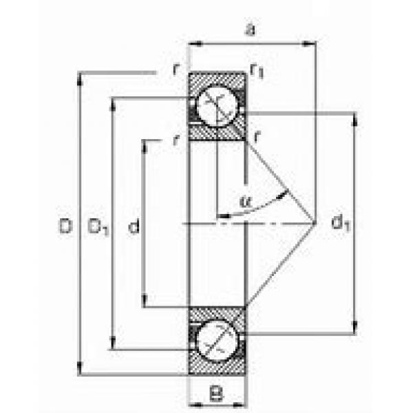 FAG 234780M.SP DBB, DFF, DBT, DFT, DTT, Quadruplex Precision Bearings #2 image